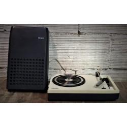 Platine tourne disque Philips années 70