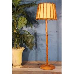 Lampadaire bambou années 60