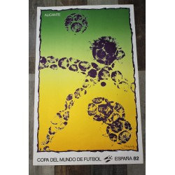 Affiche Coupe du Monde Espagne 1982