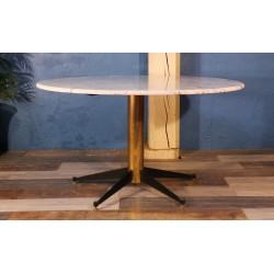 Table salon marbre Italie années 50
