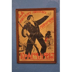 Affiche propagande Russe années 20