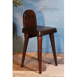 Chaise / Tabouret moderniste années 60
