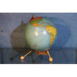 Globe terrestre Taride années 50