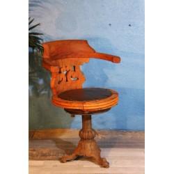 """Chaise """"Paquebot"""" début XXème siècle"""
