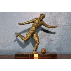 """Statuette """"Football"""" Mimaux années 30"""