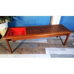 Table basse porte revue années 60