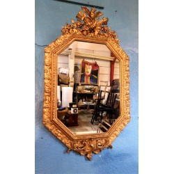 Miroir mural XIXème siècle