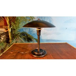 Lampe champignon Aluminor années 6