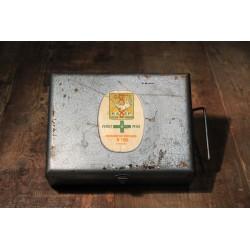 Boîte 1er secours Asep années 60