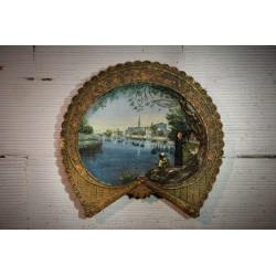 Assiette décor Shiller XIXème siècle
