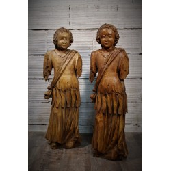 Statues fin XIXème siècle