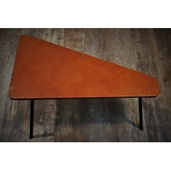 Table basse triangle années 50