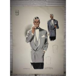 Croquis mode Eté 1948