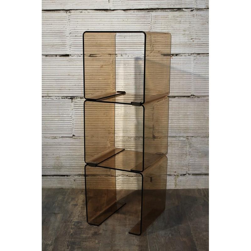etag re sur pied plexiglas ann es 60. Black Bedroom Furniture Sets. Home Design Ideas