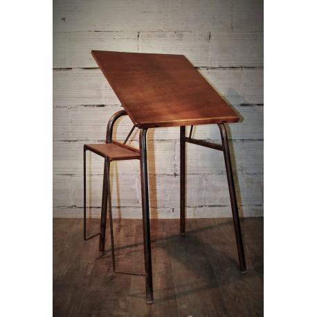 Bureau / Table à dessin années 60