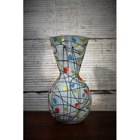 Vase double col années 50
