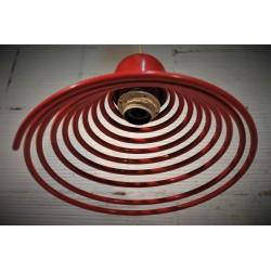 Lustre suspension Spirale années 70