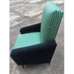 """Fauteuil """"Serpentino"""" années 60"""