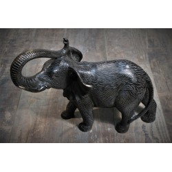 """Statuette """"Eléphant"""" bronze années 60"""