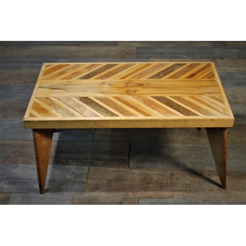 table basse placage ann es 50. Black Bedroom Furniture Sets. Home Design Ideas