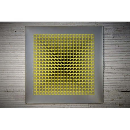"""Lithographie Vasarely """"ILLIK"""" années 60"""