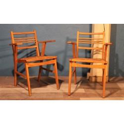 """Chaises """"Paille"""" années 60"""