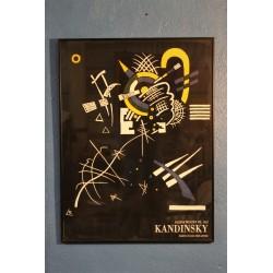 Affiche Kandinsky années 80