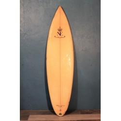 """Planche de surf """"Hôtel du Palais"""" années 80"""
