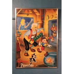 """Affiche """"Pinocchio"""" Disney années 80"""