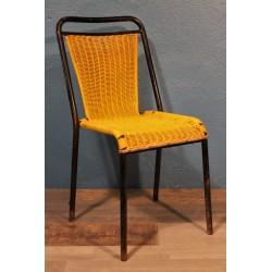 """Chaise """"Scoubidou"""" années 60"""