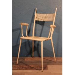 """Chaise de jardin """"Pointes"""" années 50"""