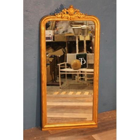 Miroir sur pied XIXème siècle