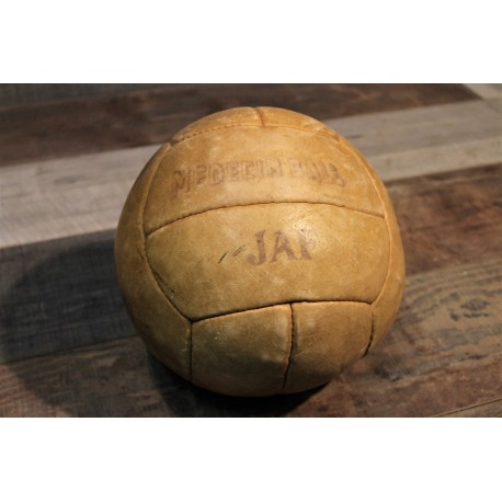 "Ballon ""Medecine ball"" années 60"
