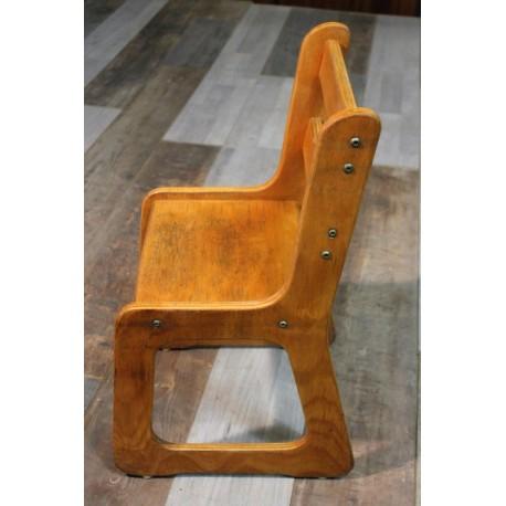 """Chaise enfant """"Traineau"""" années 60"""