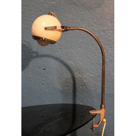 """Lampe applique à bras """"Eyeball"""" années 60"""