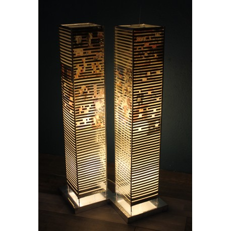 "Lampadaire ""World Trade Center"" années 90"
