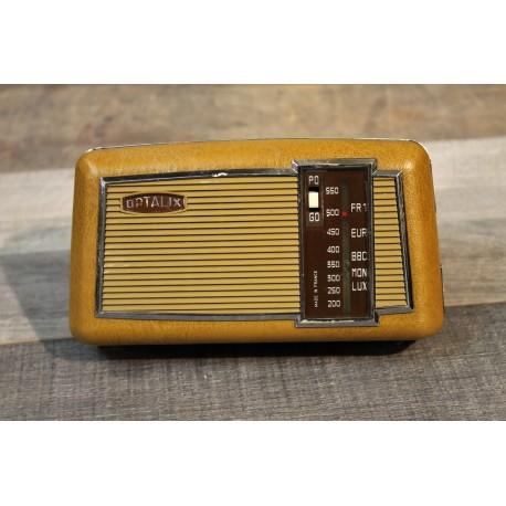 Radio transistor bluetooth Optalix années 70