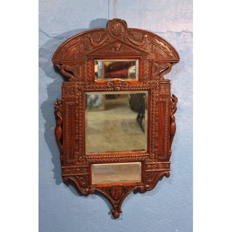 """Miroir mural """"Antique"""" XIXème siècle"""