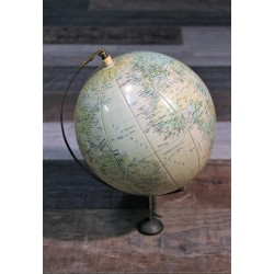 Globe terrestre gonflable années 60
