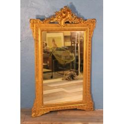 Miroir mural fin XIXeme siècle
