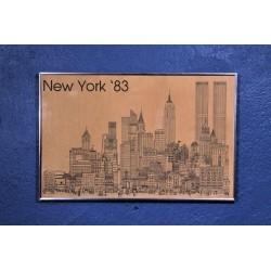 "Affiche ""New York"" années 80"