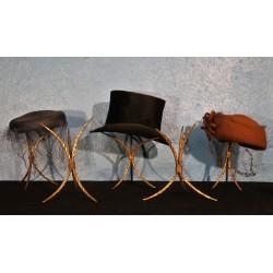 Porte chapeau tripode début XXème siècle